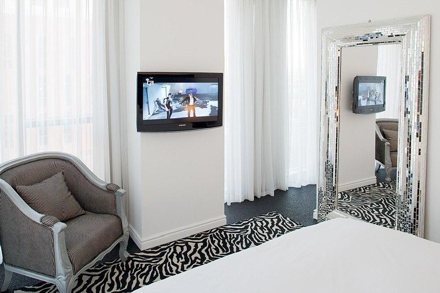 סוויטת דלקס במלון לאונרדו בוטיק תל אביב