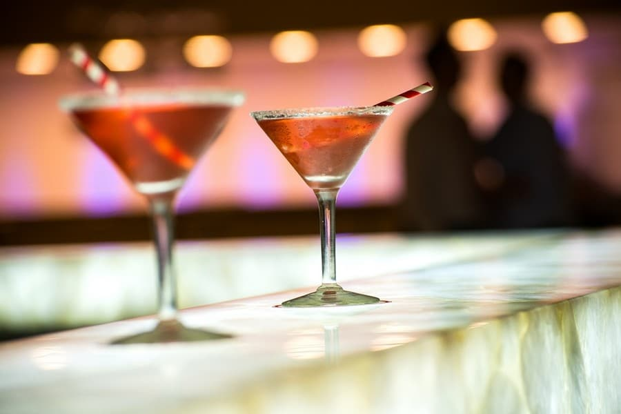 בר המשקאות במלון