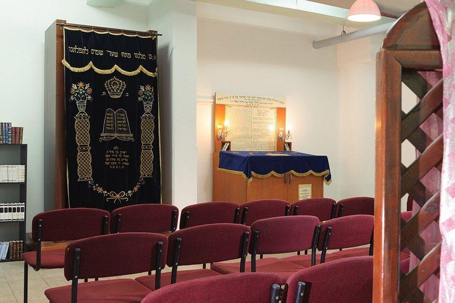 בית כנסת במלון לאונרדו פלאזה חיפה