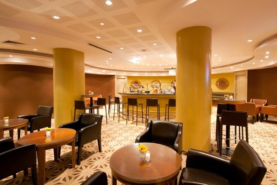 הלובי במלון לאונרדו ירושלים