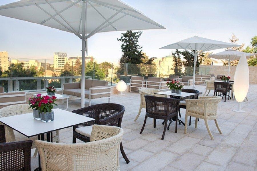 המרפסת בלאונרדו פלאזה ירושלים