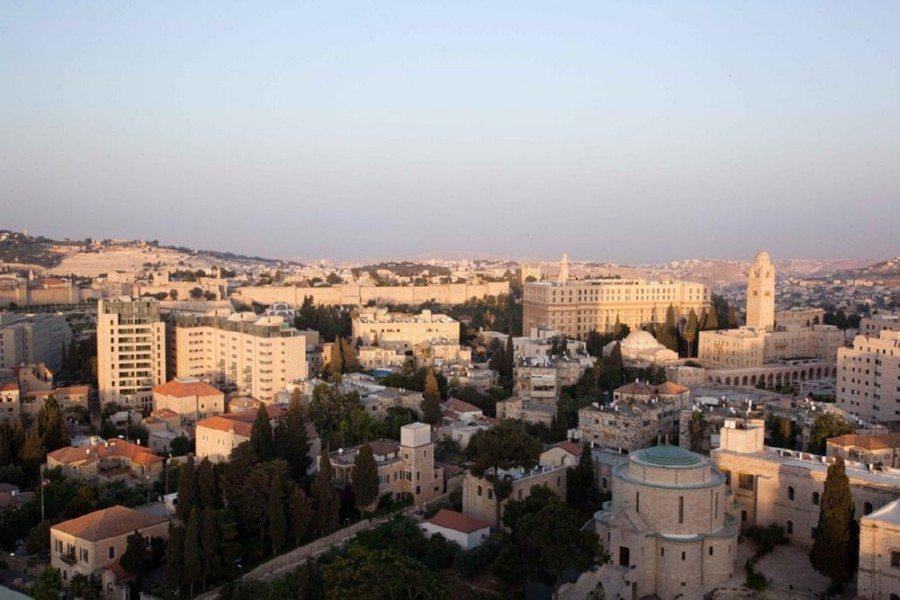 הנוף ממלון לאונרדו פלאזה ירושלים