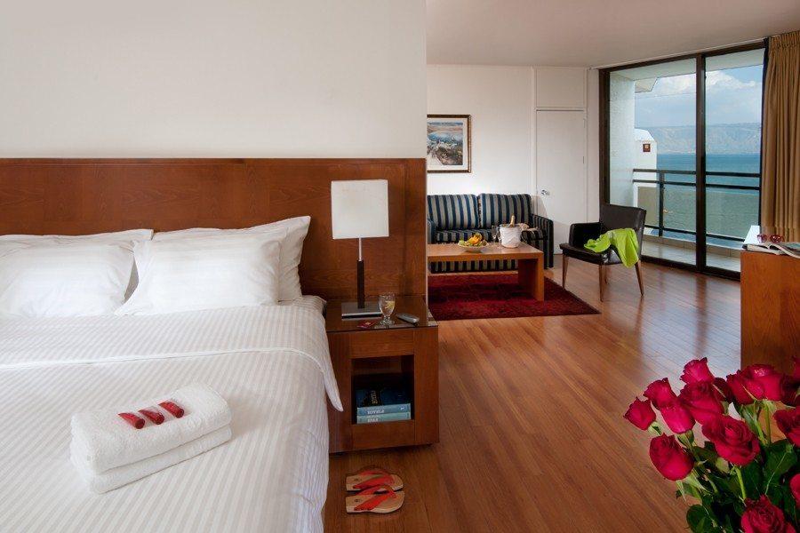 חדר שינה בסוויטת ג'וניור