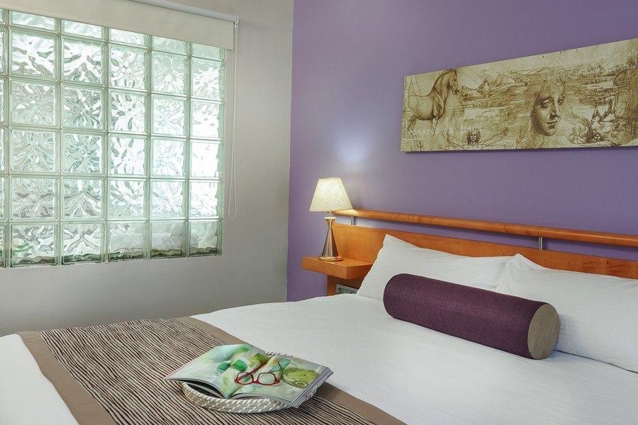 חדר שינה בסוויטה