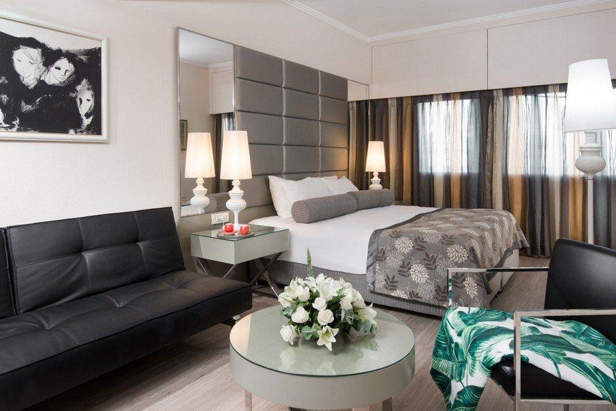 חדר דלקס במלון לאונרדו ארט